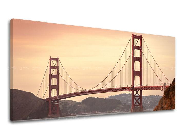 Obraz na stěnu Panoráma MĚSTO / SAN FRANCISCO ME116E13 moderní obrazy na plátně
