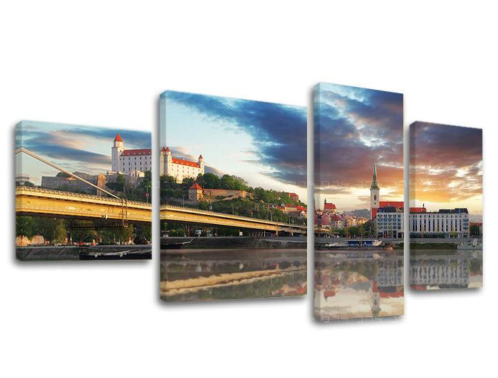 Levně Obraz na stěnu 4 dílný SLOVENSKO SK021E40