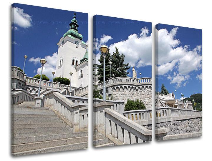Levně Obraz na stěnu 3 dílný SLOVENSKO SK024E30