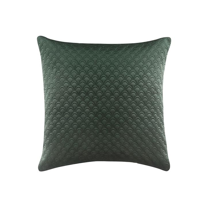 Levně Povlak na polštář NOVELTY Dark Green 45x45 cm