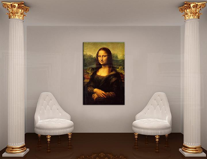 Obraz na plátně MONA LISA - Leonardo Da Vinci REP177