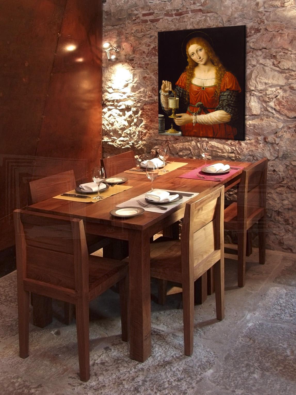 Obraz na plátně REPRODUKCE – Leonardo da Vinci reprodukce