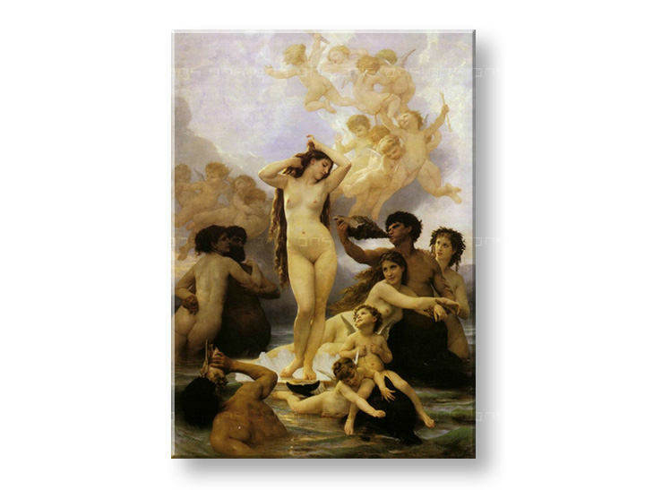 Obraz na plátně ZROZENÍ VENUŠE - William Bouguereau REP145