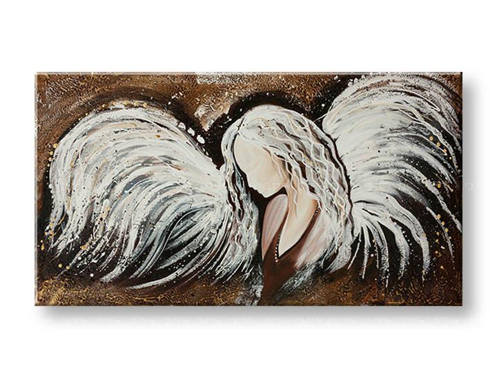 Ručně malovaný obraz na stěnu ANDĚL YOBFB533E1 6c94bc61b7